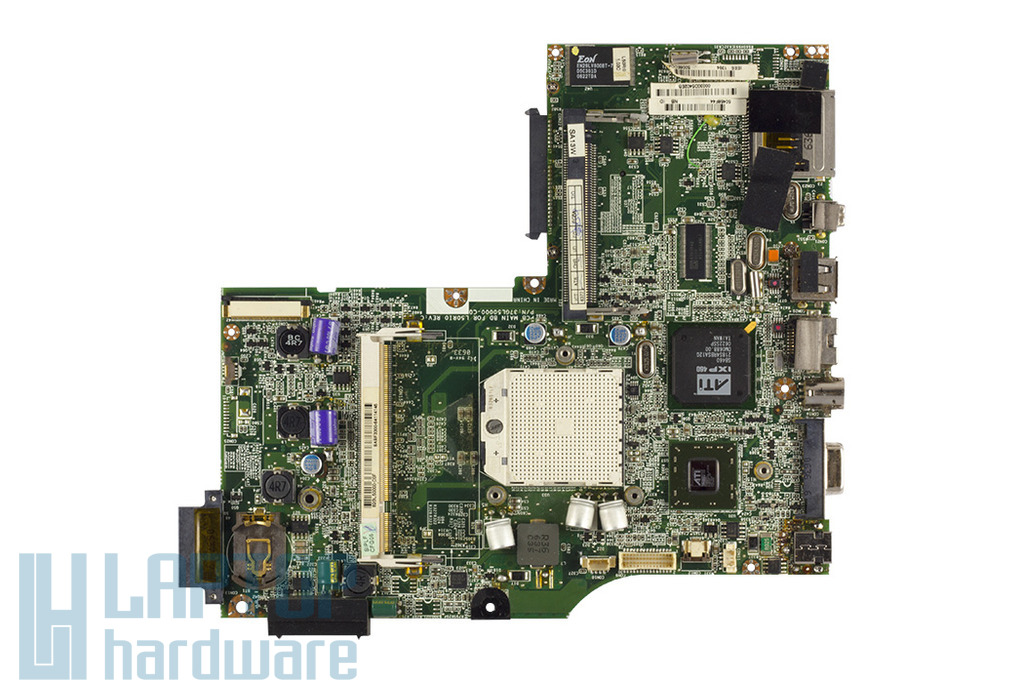 Fujitsu-Siemens Amilo Pa1510 használt laptop alaplap, 37GL50000-C0