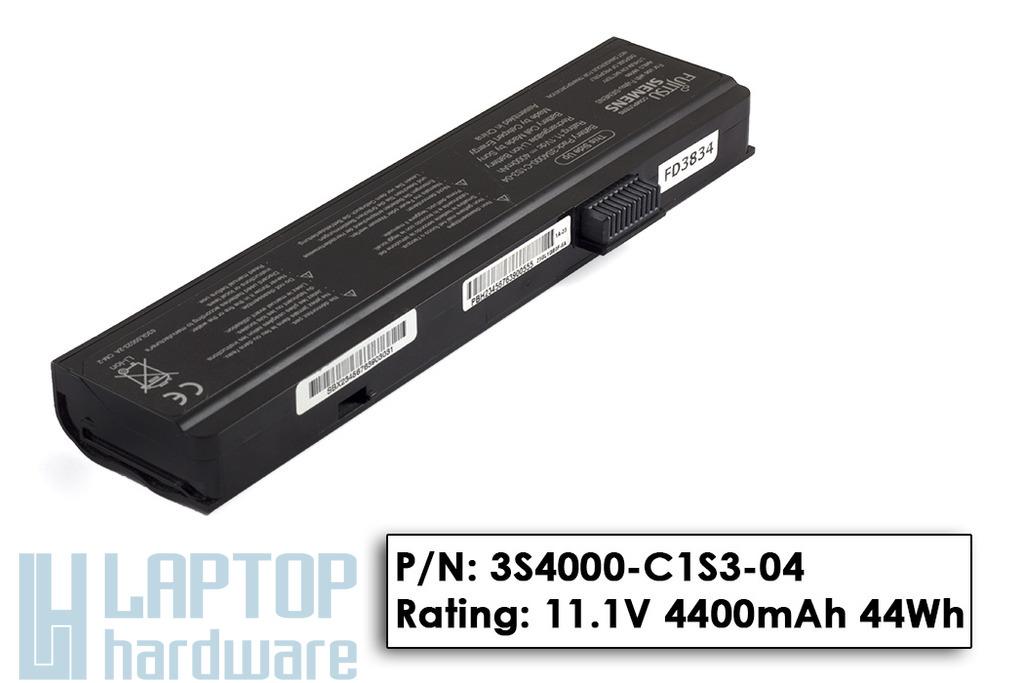 Fujitsu-Siemens Amilo Pa1510, Pi2510, Li1818 használt 50%-os laptop akku/akkumulátor  3S4000-C1S3-04