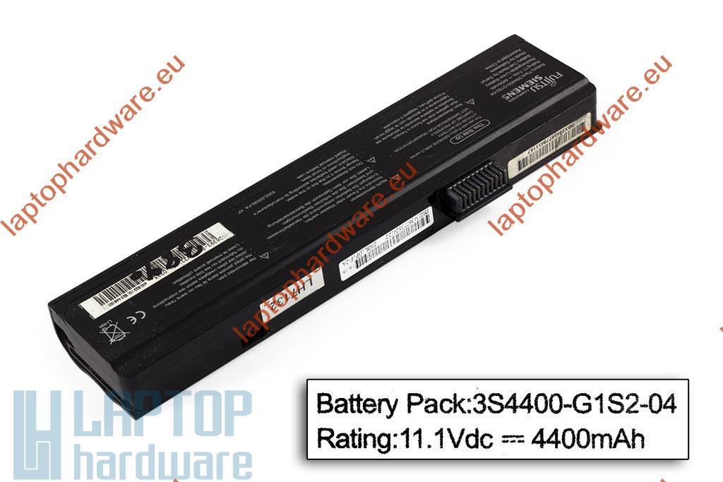 Fujitsu-Siemens Amilo Pa1510, Pi2510, Li1818 használt 70%-os 6 cellás gyári laptop akku/akkumulátor (3S4400-G1S2-04)
