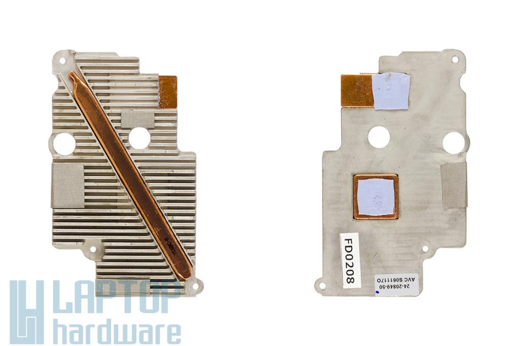 Fujitsu-Siemens Amilo Pa1538 laptophoz használt videó chip hűtőborda (24-20849-50)