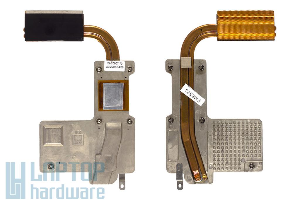 Fujitsu-Siemens Amilo Pa2548 laptophoz használt hűtőborda, hőelvezető cső (24-20907-70)