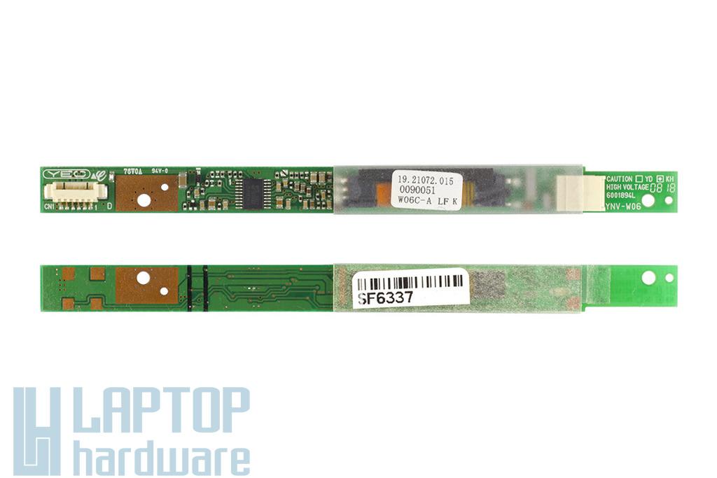 Fujitsu-Siemens Amilo Pa3553 laptophoz használt LCD inverter, W06C-A LF K
