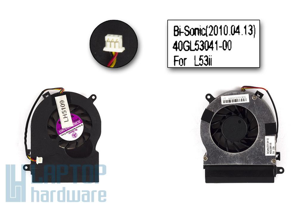 Fujitsu-Siemens Amilo Pi2512, 2515 gyári új laptop hűtő ventilátor (40GL53041-00)