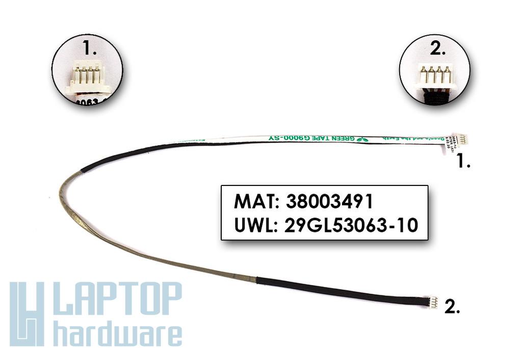 Fujitsu-Siemens Amilo Pi2515 gyári új LCD inverter kábel, 29GL53063-10