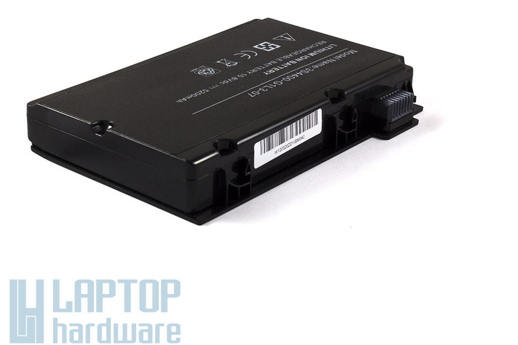 Fujitsu-Siemens Amilo Pi3525 fekete helyettesítő új laptop akku/akkumulátor 3S4400-G1L3-07