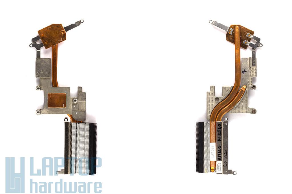 Fujitsu-Siemens Amilo Pi3525, Advent 6651 használt laptop hőelvezető cső, 40GF50040-40