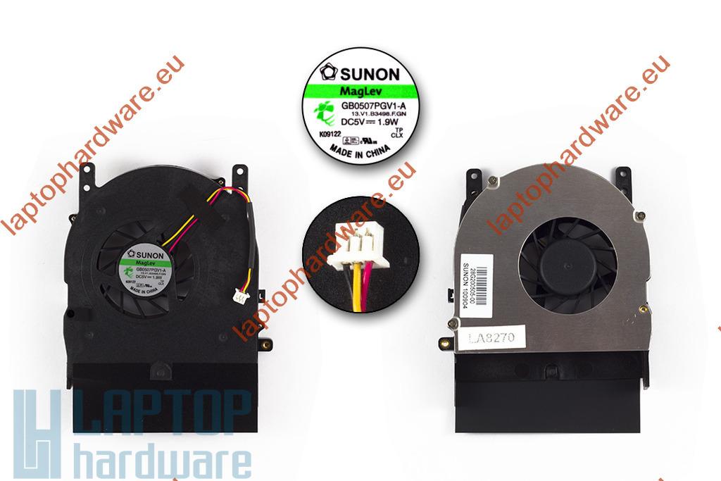 Fujitsu-Siemens Amilo Pi3525, Pi3540 használt laptop hűtő ventilátor (GB0507PGV1-A)