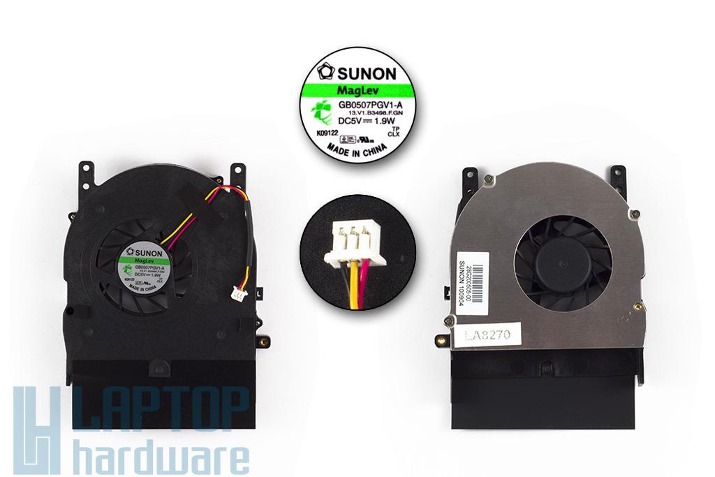 Fujitsu-Siemens Amilo Pi3525, Pi3540 gyári új laptop hűtő ventilátor (GB0507PGV1-A)