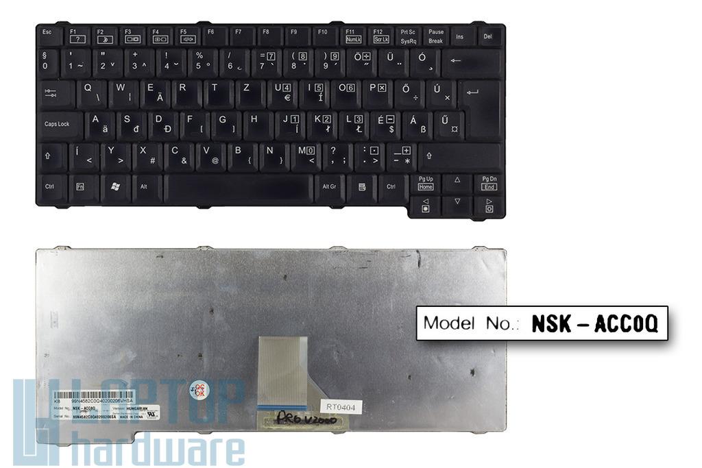 Fujitsu-Siemens Amilo Pro V2000, V2040, V2045, V2060 használt magyar laptop billentyűzet (NSK-ACC0Q)