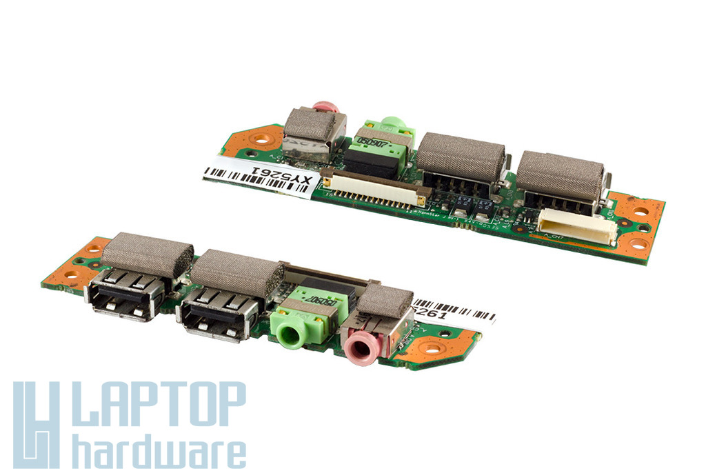Fujitsu-Siemens Amilo Pro V2030 laptophoz használt USB és audio panel (50-71072-04)