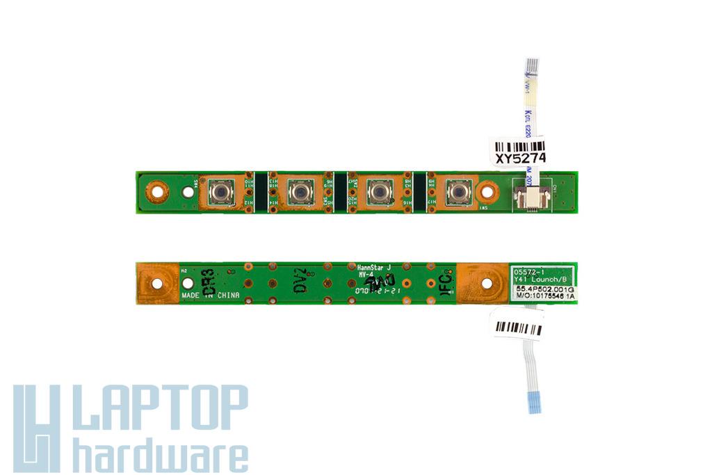 Fujitsu-Siemens Amilo Pro V3505 laptophoz használt bekapcsoló panel (55.4P502.001G)