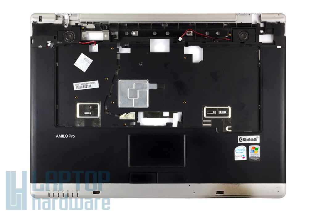 Fujitsu-Siemens Amilo Pro V3505 laptophoz használt felső fedél touchpaddal, hangszórókkal (60.4B603.002)