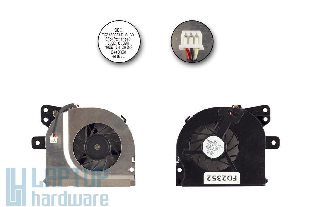 Fujitsu-Siemens Amilo Pro V8010 használt laptop hűtő ventilátor, (T6313B05H0)