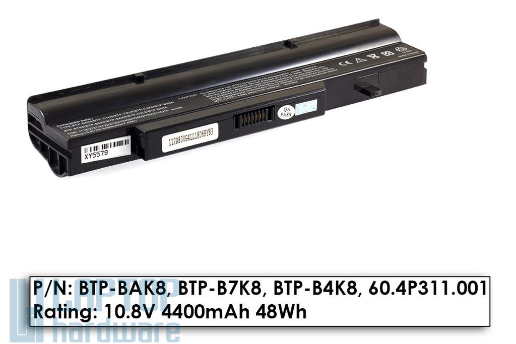 Fujitsu-Siemens Amilo V3505, Li1718 használt 60%-os 6 cellás laptop akku/akkumulátor (BTP-B4K8)