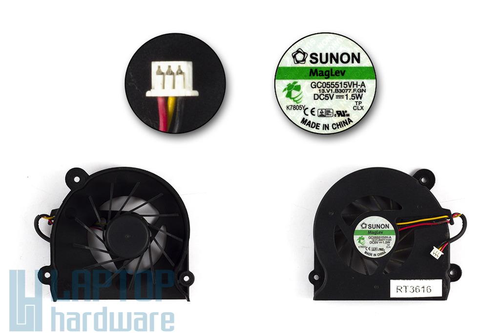 Fujitsu-Siemens Amilo Xa2528 használt laptop hűtő ventilátor (GC055515VH-A)
