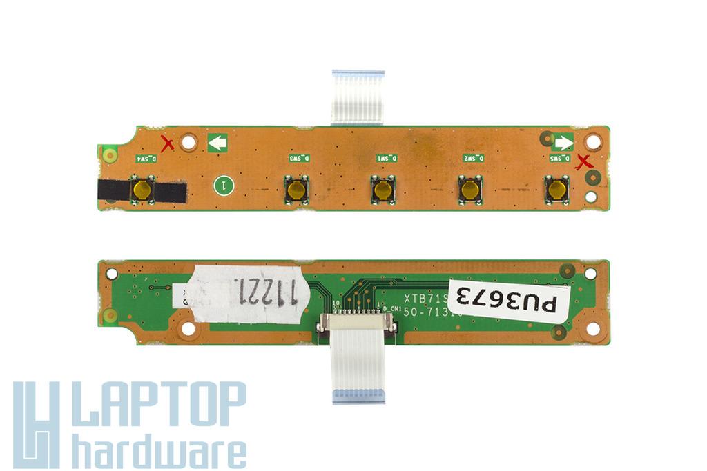 Fujitsu-Siemens Amilo Xa2528, Xa1526 laptophoz használt bekapcsoló panel (50-71319-20)
