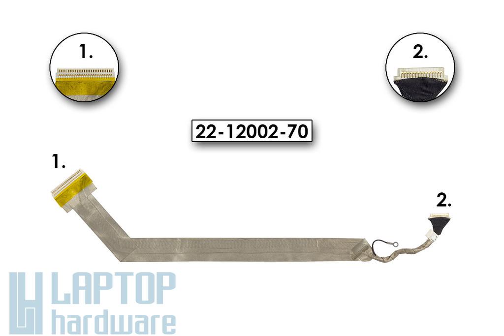 """Fujitsu-Siemens Amilo Xa2528 laptophoz használt LCD kábel 17"""" (22-12002-70)"""