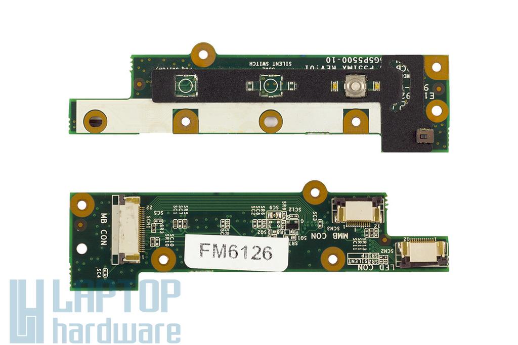Fujitsu-Siemens Amilo xi2428, xi2528, xi2550, Pi2530, Pi2540, bekapcsoló panel, 80G5P5500-10