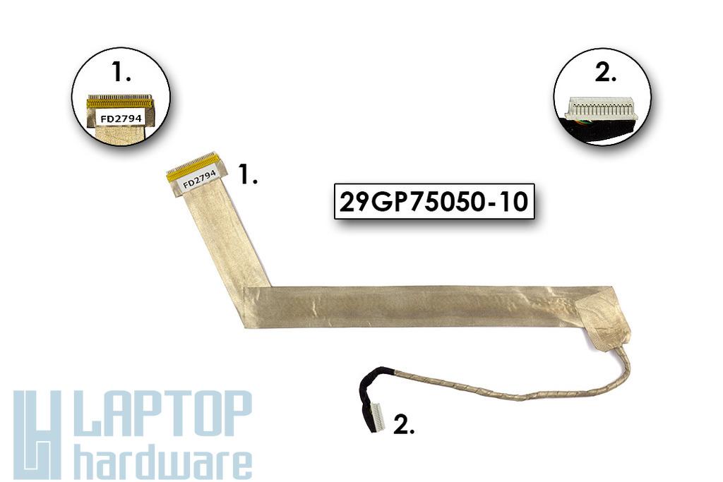 Fujitsu-Siemens Amilo Xi2528 laptophoz használt LCD kábel (29GP75050-10)