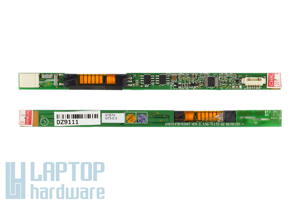 Fujitsu-Siemens Amilo XI3650 laptophoz gyári új LCD inverter (50-71531-20)