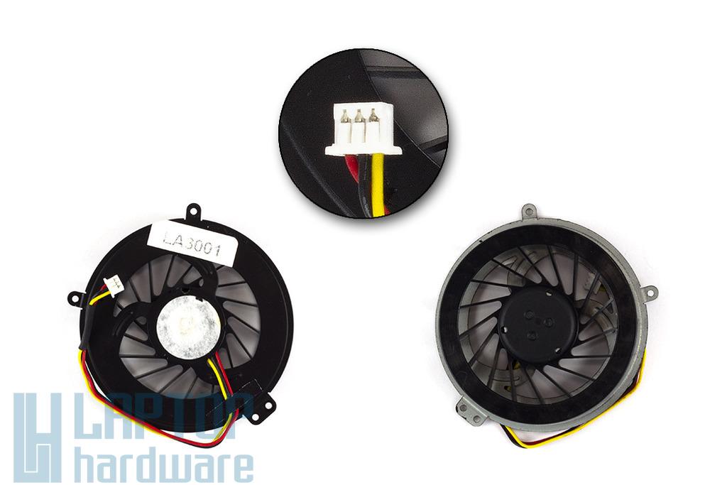 Fujitsu-Siemens LifeBook A530, AH530 gyári új laptop hűtő ventilátor (39FH2TAJT40)