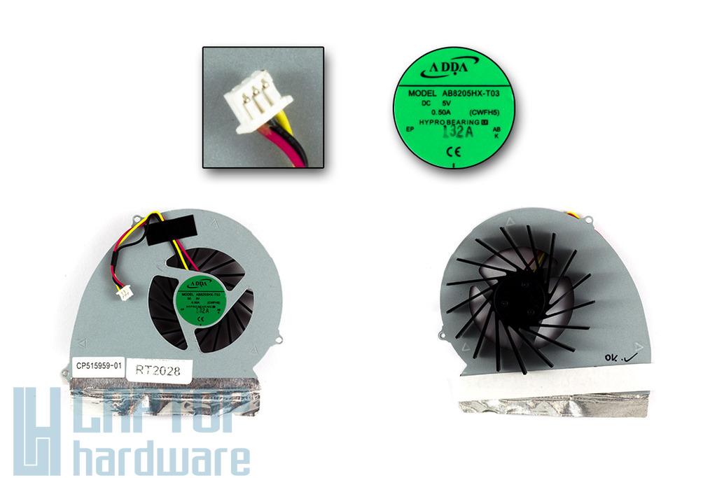 Fujitsu-Siemens LifeBook A531, AH531 használt laptop hűtő ventilátor (CP515959-01)