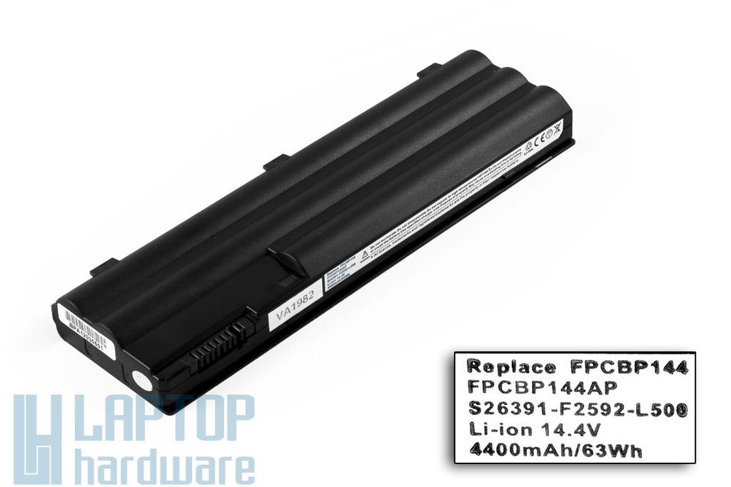 Fujitsu-Siemens LifeBook E8110, E8210 új helyettesítő 8 cellás laptop akku/akkumulátor FPCBP144