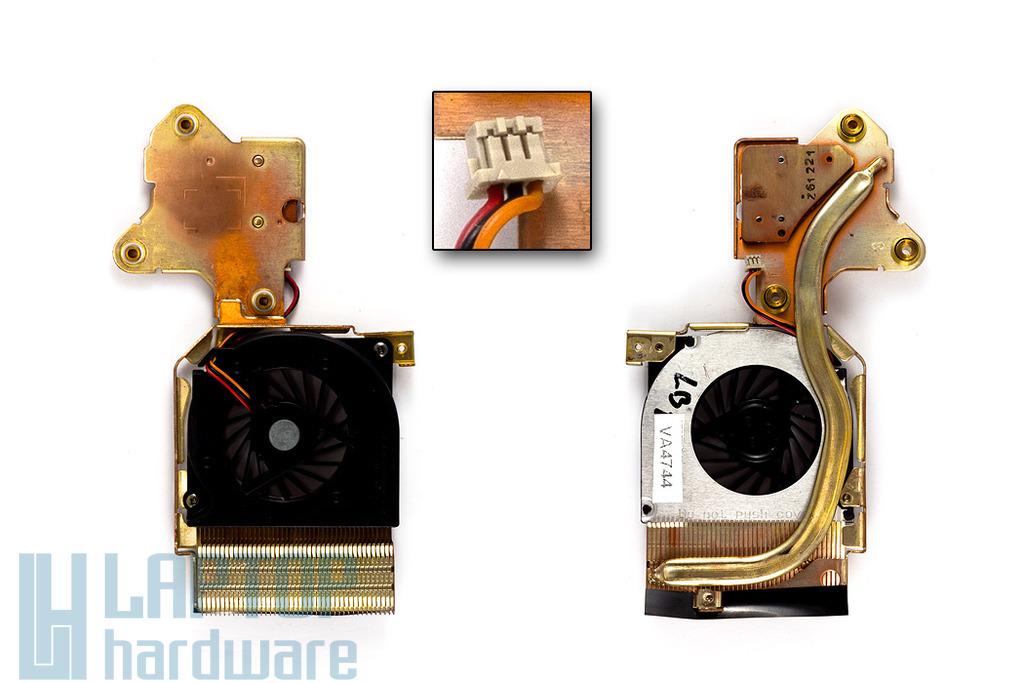 Fujitsu-Siemens LifeBook E8110 használt komplett laptop hűtő ventilátor (MCF-S6055AM05)