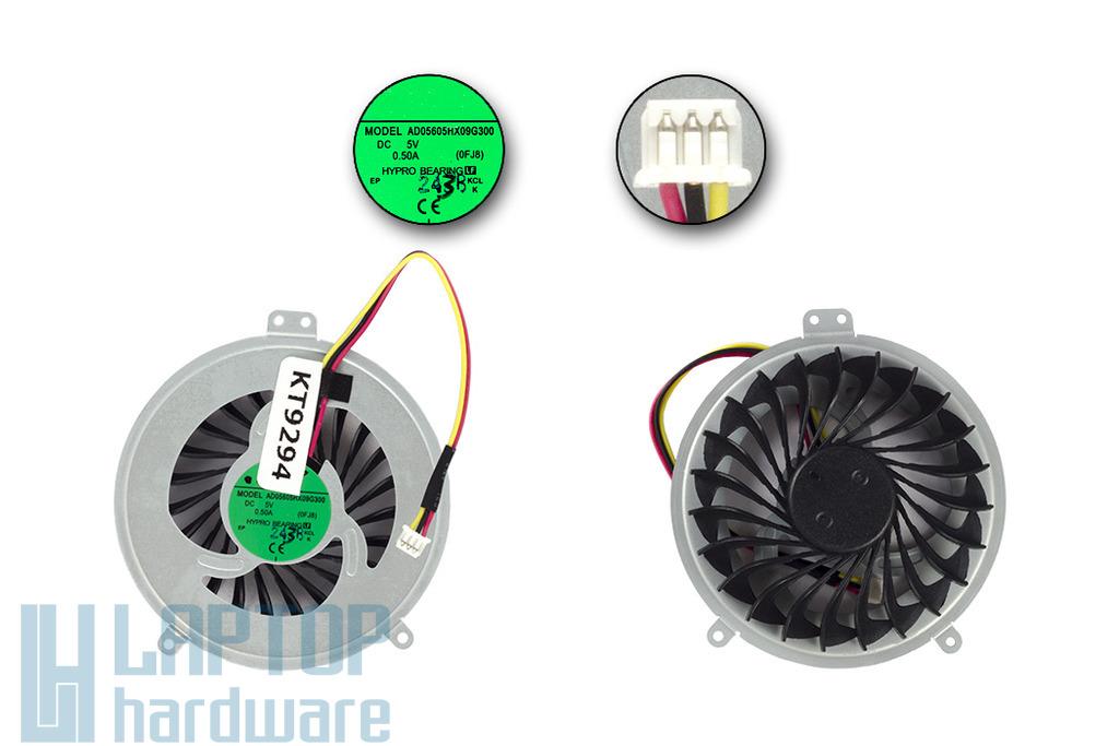 Fujitsu-Siemens LifeBook LH532 gyári új laptop hűtő ventilátor (CP567635-XX)
