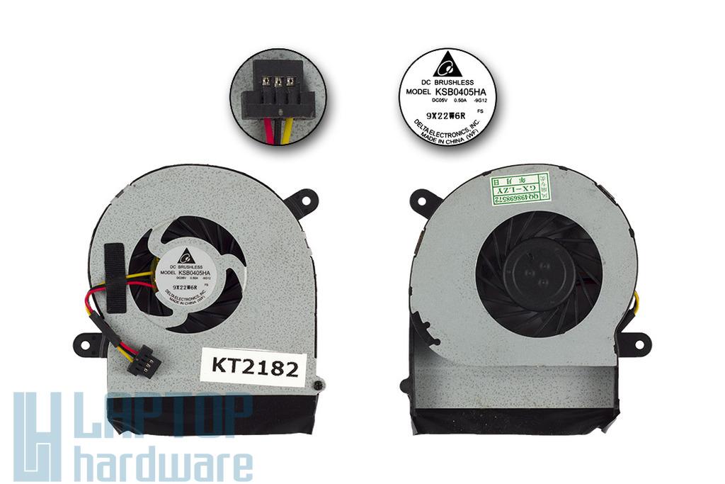 Fujitsu-Siemens LifeBook P3110 gyári új laptop hűtő ventilátor (CP465398-01)