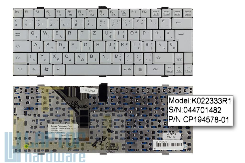 Fujitsu-Siemens LifeBook P7010 használt magyar laptop billentyűzet (K022333R1)