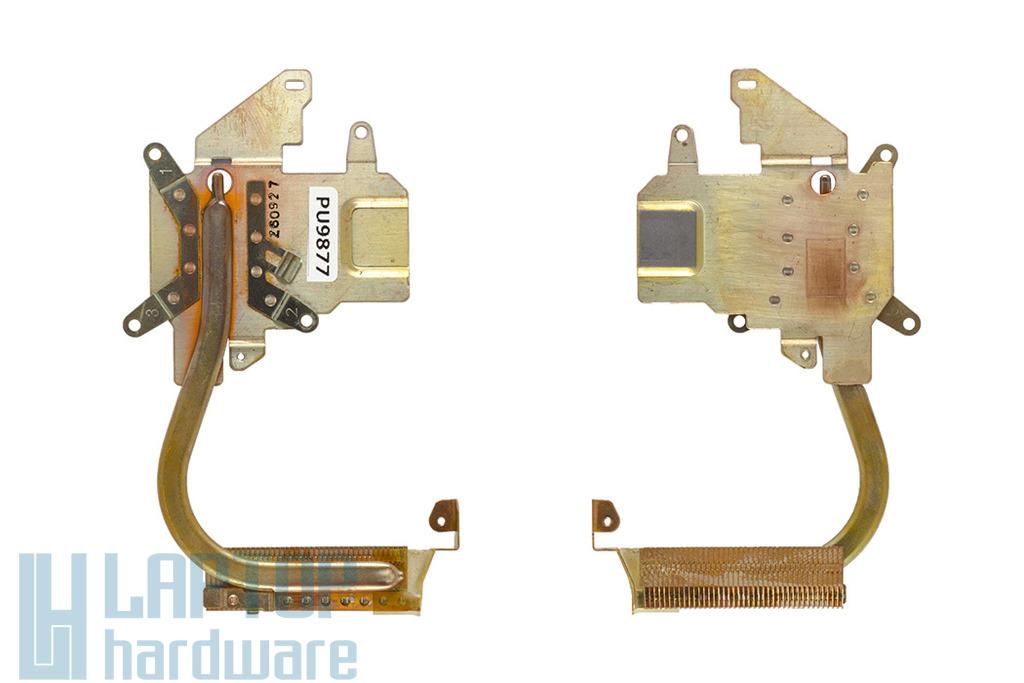 Fujitsu-Siemens LifeBook S7110 használt laptop hővezető cső, hűtőborda