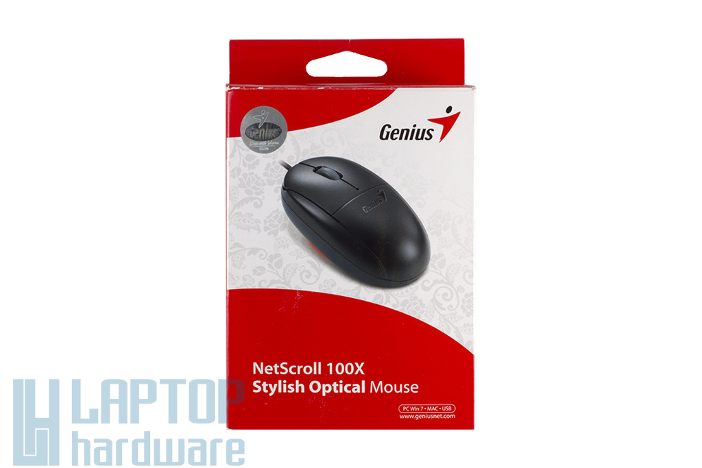 Genius NetScroll 100X  használt USB optikai egér, GM-080025