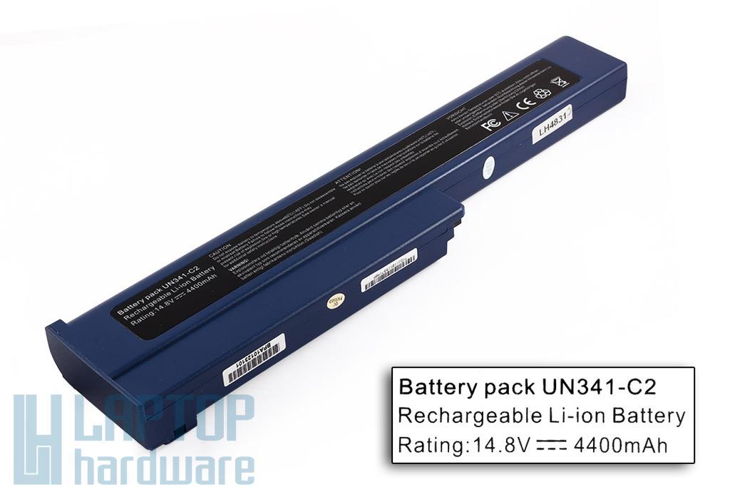 Gericom Webboy, Webgine, Webgine Advanced helyettesítő új 8 cellás laptop akku/akkumulátor (UN341C2-E)