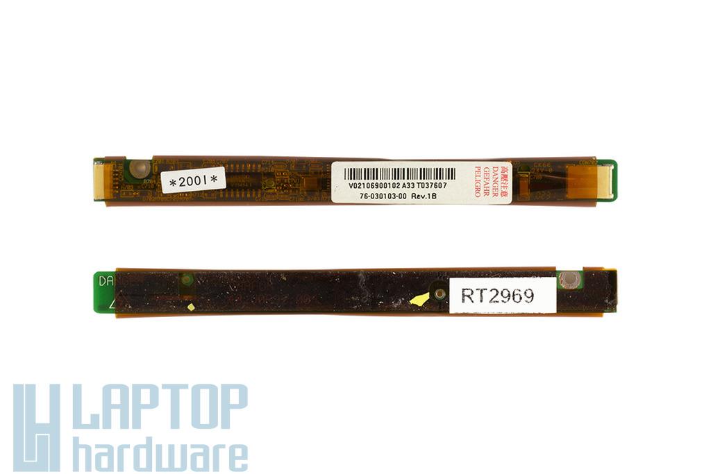 Gericom X5 használt laptop LCD inverter (76-030103-00, 48.V0692.004)