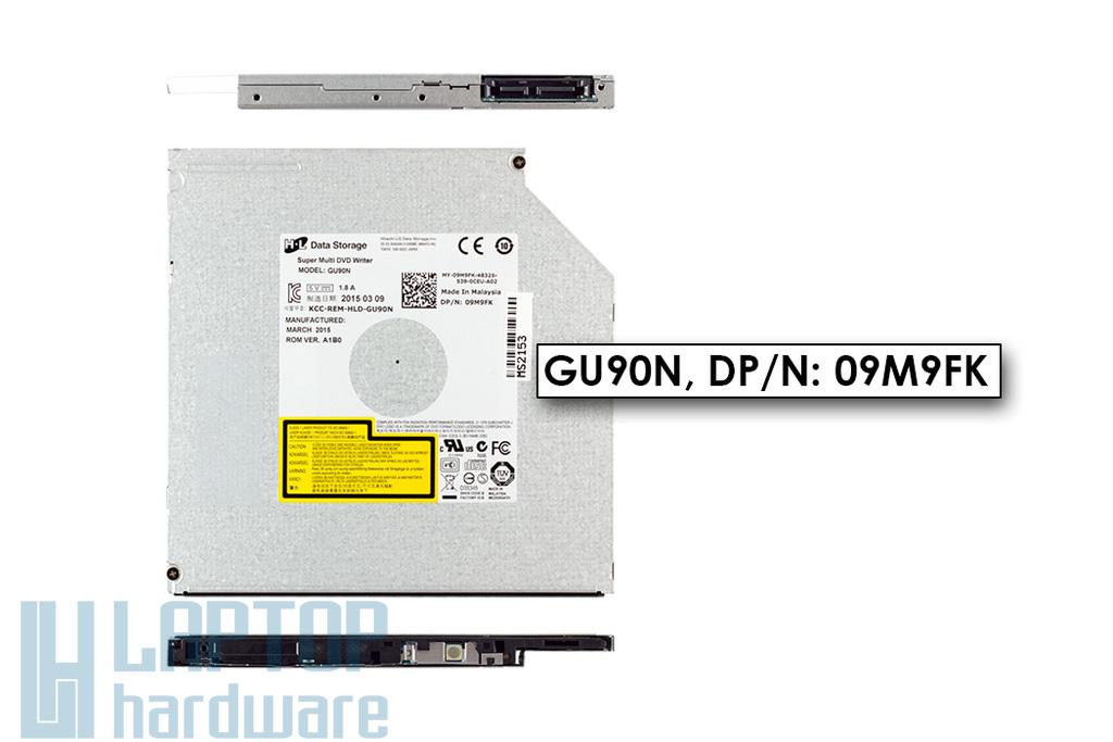 Gyári új SATA laptop DVD-író (9.5mm) (GU90N)