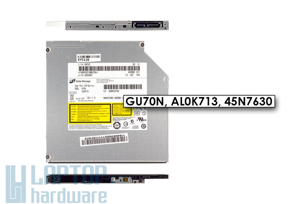 Gyári új ultra slim 9.5mm SATA laptop DVD-író