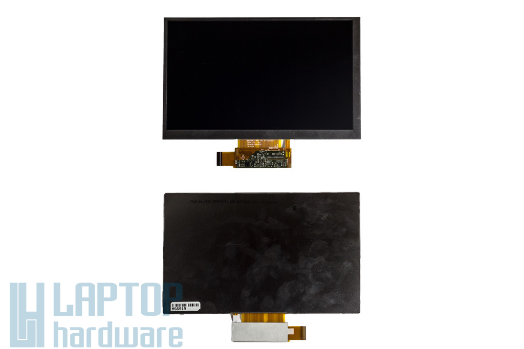 Gyári új fényes 7'' (1024x600) LED kijelző Samsung Galaxy Tab 3 Lite SM-T110 tablethez (BA070WS1-402)