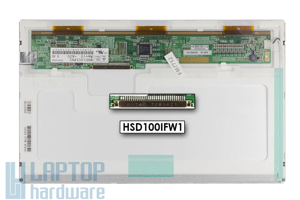 HannStar (HSD100IFW1-A00) használt matt laptop kijelző