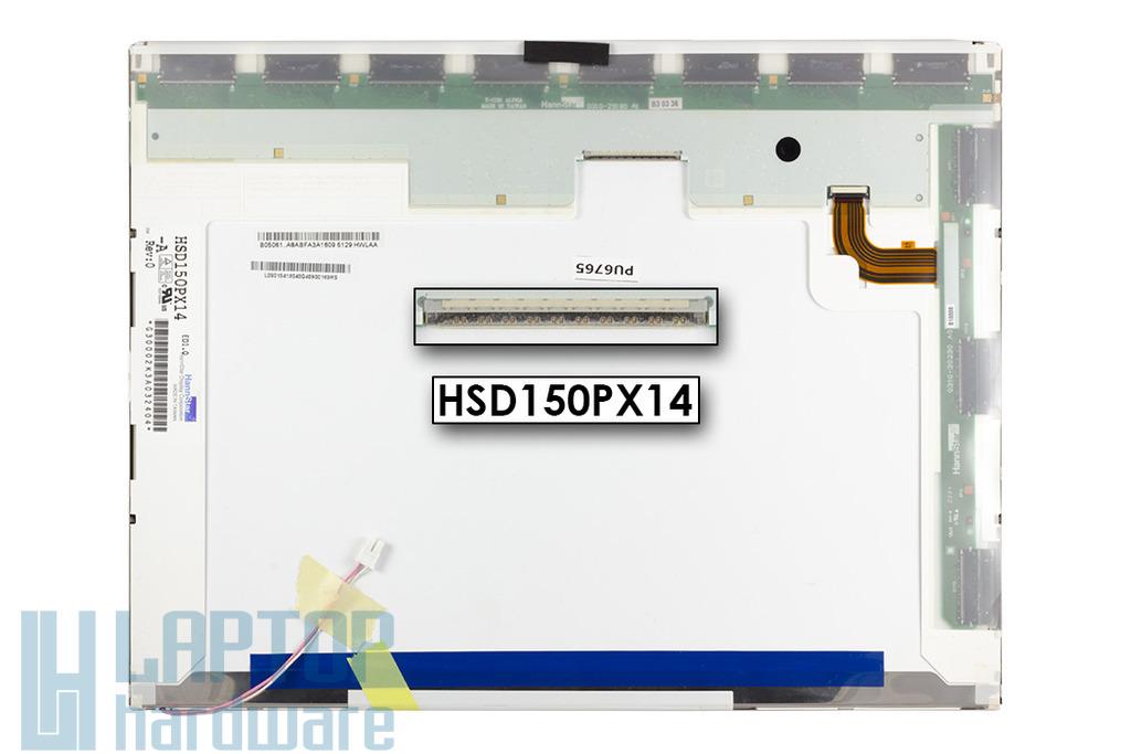 HannStar HSD150PX14 XGA 1024x768 használt notebook kijelző