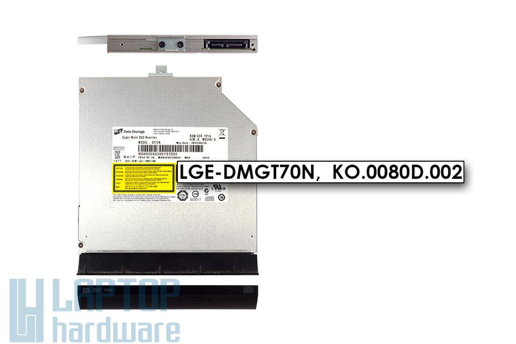 Hitachi-LG GT70N használt laptop SATA DVD író (8x) előlappal (LGE-DMGT70N)
