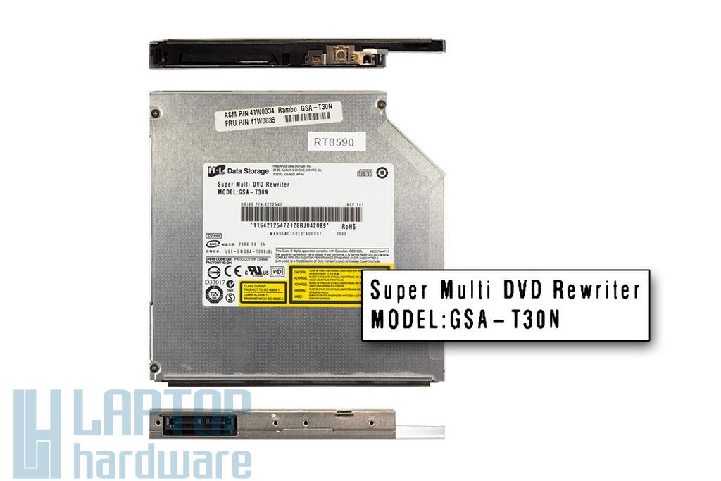 Hitachi-LG SATA laptop DVD-író (GSA-T30N)