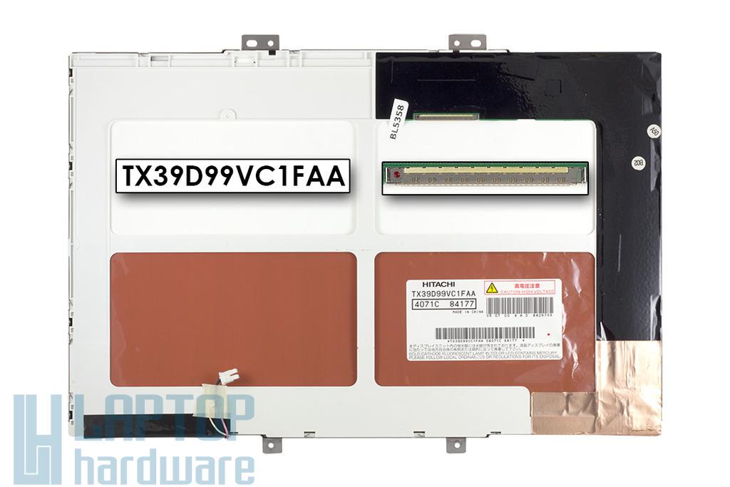 Hitachi TX39D99VC1FAA 15,4 inch CCFL WSXGA+ 1680x1050 használt matt laptop kijelző