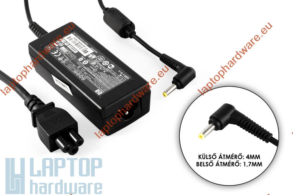 HP 19,5V 2,05A 40W(4mm-1,7mm kúpos fej) használt laptop töltő (HSTNN-LA18)