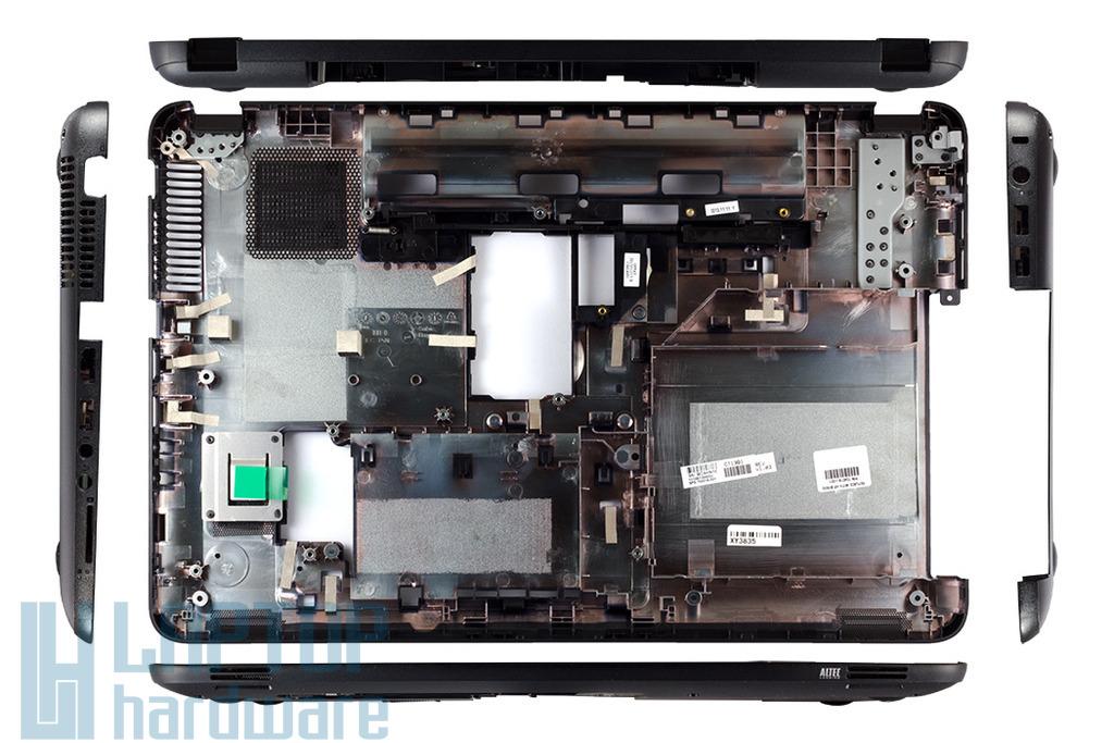 HP 250 G1, 255 G1, 2000 sorozatú laptopokhoz gyári új alsó fedél, bottom case (704016-001)