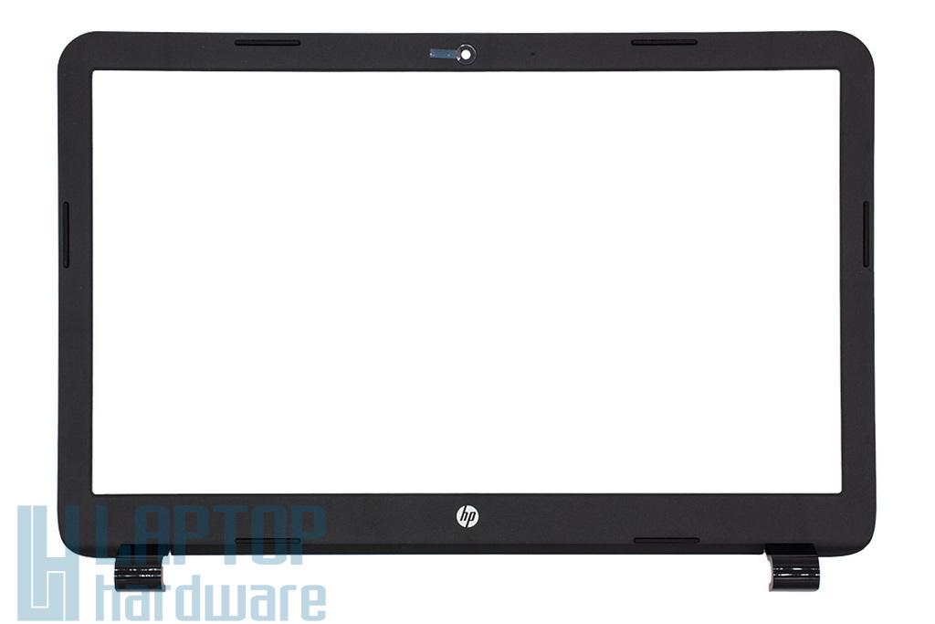 HP 250 G3, 15-G, 15-R sorozatú laptophoz gyári új matt fekete LCD kijelző keret (749644-001)