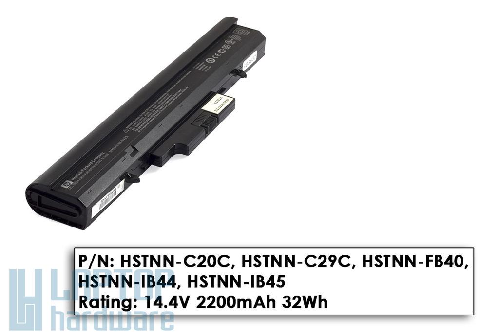 HP 510, 530 laptophoz használt 4 cellás 50%-os laptop akkumulátor, HSTNN-IB44