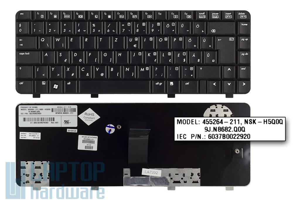 HP 550, 6520, 6520s, 6720, 6720s gyári új magyar laptop billentyűzet (495400-211)