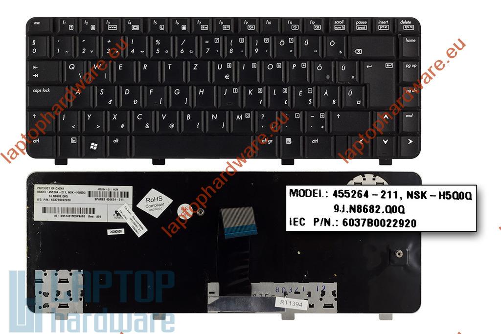 HP 550, 6520, 6520s, 6720, 6720s használt magyarított laptop billentyűzet (455264-061)