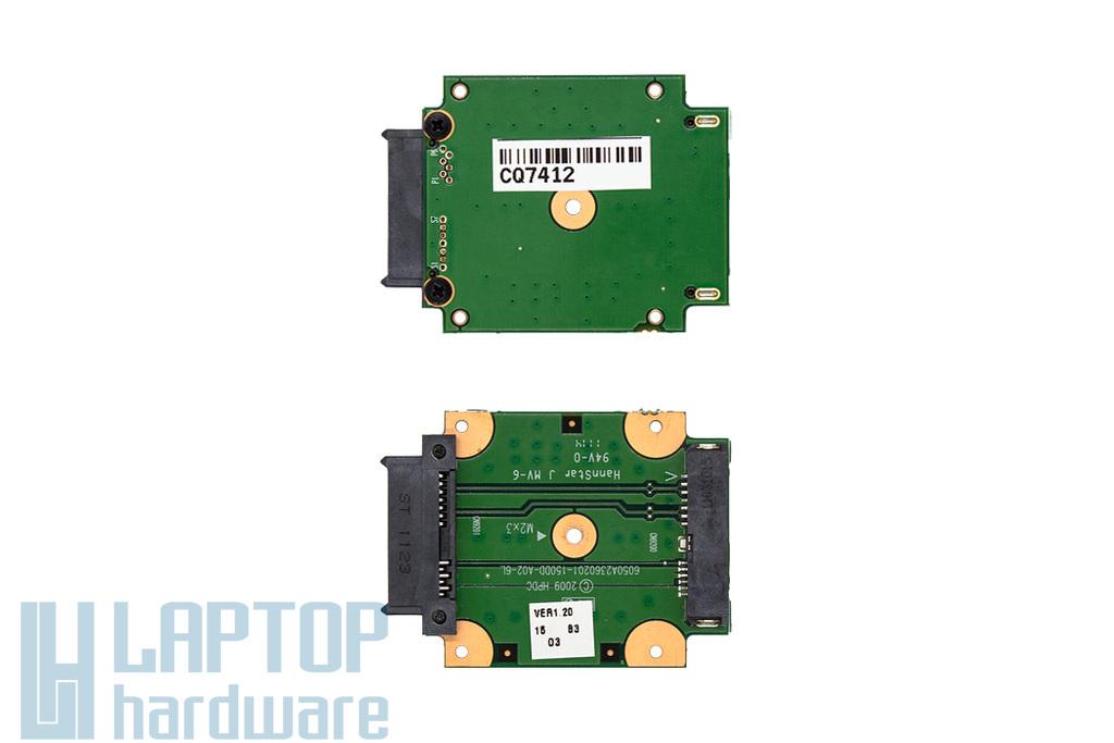 HP 625 Compaq használt laptop DVD SATA csatlakozó panel (605799-001)